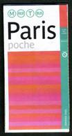 Métro Paris - Paris (format Poche) - Complet - Janvier 2006 - Europe