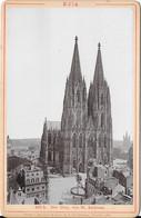 Photo Cartonnée D'époque - Köln - Der Dom,  Von St. Andreas - Plaatsen