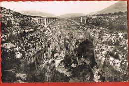 04- Les Gorges Pittoresques Du VERDON -Gorges De L'Artuby Et Le Pont-voyagée 1952 Avec DAGUIN MOUSTIERS - Autres Communes