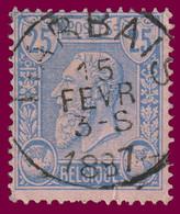 COB N° 48 - Belle Oblitération - MARBAIS - 1884-1891 Leopold II