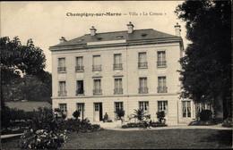 CPA Champigny Sur Marne Val De Marne, Villa Le Coteau - Otros Municipios