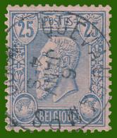 COB N° 48 - Belle Oblitération - QUEVAUCAMPS - 1884-1891 Leopold II