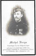 Vreys Michel (gesneuveld -lommel 1891 -vannecrocq 1918) - Religion & Esotérisme