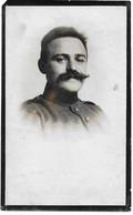 Moreels Jules (gesneuveld Lichtervelde 1890 -langemark 1918 - Handgeschreven Fotoprentje) - Religion & Esotérisme