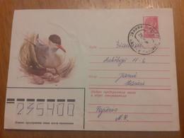 Lithuania Litauen Cover Sent From Pajuris To Siauliai  1982 Birds - Lituania