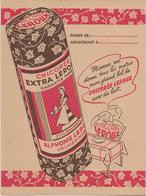 "PROTEGE - CAHIER  PUBLICITAIRE  "" CHICOREE LEROUX "" - Coffee & Tea"