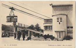 LE SALEVE - Téléférique Du Salève - Gare De Départ - Voiture - Altri Comuni