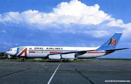 Ural Airlines - Ilyshin 86 + 1997 - 1946-....: Modern Era