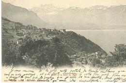 Glion - Et Dent Du Midi + 1904 - VD Vaud