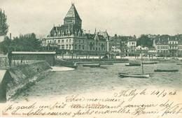 Ouchy - Le Château + 1904 - VD Vaud