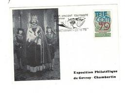Carte  SAINT VINCENT- GEVREY CHAMBERTIN 1979 - Bolli Commemorativi