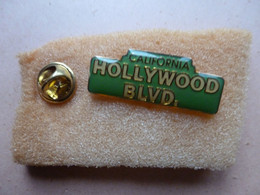 MOOIE PIN   DE STAAT  CALIFORNIA  HOLLYWOOD BLVD    ( USA ) - Andere