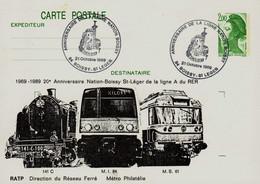 Année 1989 Anniversaire Ligne A RER Numéro Catalogue Yvert Et Tellier :2484 - Covers & Documents