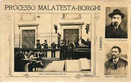 Italia - Processo Malatesta-Borghi - Unclassified
