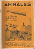 Les Annales Octobre 1935 Outre Tombe Lyautey Mazarin La Souple Homme Civilisation Carrel Vierge Noir Milanesi - Sin Clasificación