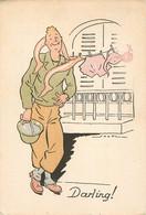 BARRE DAYEZ 1369 C MILITAIRE AMERICAIN DARLING - Other Illustrators
