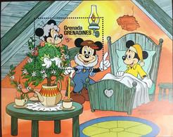 Grenada Grenadines 1987 Hafnia Andersen Fairy Tales Disney Minisheet MNH - Grenada (1974-...)