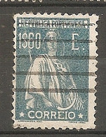 PORT - Yv. N°  294   (o)  1e60, Bleu  Cérès  Cote  7 Euro BE 2 Scans - Used Stamps