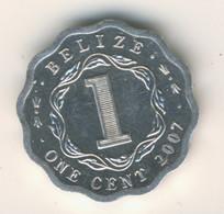 BELIZE 2007: 1 Cent, KM 33a - Belize