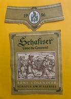 17625 - Schaffiser  1986 Cave Du Couvent René Cosandier - Sonstige