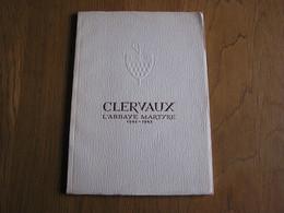 CLERVAUX ABBAYE MARTYRE 1941 - 1945 Régionalisme Guerre 40 45 Histoire Plaquette Tirée à 5000 Exemplaires Luxembourg - België