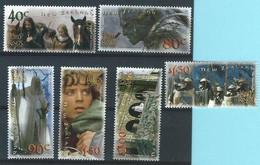 Z0064 - NEW ZEALAND 2002 - REF  110410 - THE LORD OF THE RINGS - EL SENOR DE LOS ANILLOS - UNUSED - Nuevos