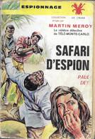 Safari D'espion Par Paul Dey - Le Crabe Espionnage N°3 - Sin Clasificación
