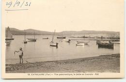 CAVALAIRE - Vue Panoramique, La Jetée Et Lacroix - Cavalaire-sur-Mer