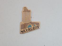 Pin's VILLE DE MEYRUEIS - Cities