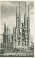 Barcelona; Templo De La Sagrada Familia - Circulated. (P. Dümmatzen - Barcelona) - Barcelona