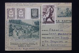 BULGARIE - Entier Postal + Compléments De Gara Levski Pour La France En 1953 - L 82597 - Postkaarten