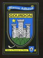 Gourdon (46) : Blason Adhésif - Gourdon