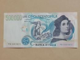 Italy - Banca D' Italia - 500000 Lire - Raffaello - - 1997 - TB+ - 500000 Lire