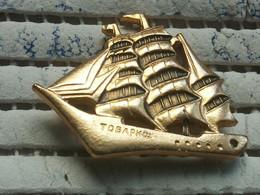Pin Russia 2 -  SHIP, Bateau - Trasporti