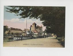 Annecy : Le Port Et Le Château - Annecy