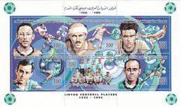 Stamps LIBYA 1995 SC 1505 SOCCER FOOTBALL MNH SHEET # 46 - Libië