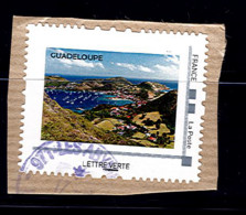 Timbre Personnalise Sur Fragment France Collector Guadeloupe Vue Baie Plage - Personalizzati (MonTimbraMoi)