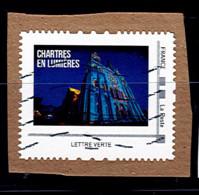 Timbre Personnalise Sur Fragment France Chartres En Lumières - Personalizzati (MonTimbraMoi)
