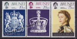 Brunei 1977 Yvert 233- 34, 25th Anniversary Of The Throne Accession Of Elizabeth II - MNH - Brunei (1984-...)