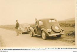 1 Photo Originale Amateur (11 X 7 Cm) - Voitures Anciennes - 4CV (BP) - 1953 - Automobili