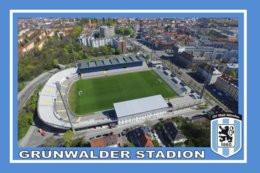 CP. STADE . MUNICH    ALLEMAGNE  GRUNWALDER STADION  # CS.240 - Calcio