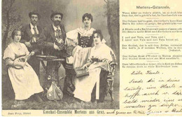 Koschat-Ensemble Mertens Aus Graz 1901 - Other