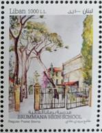 Lebanon 2020 New MNH Stamp - Brummana High School, Painting By Marina Helou - Lebanon