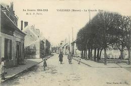 51  VAREDDES - La Grande Rue - Unclassified