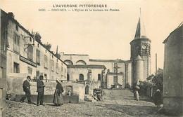 63 , ORCINES , Eglise Et Bureau De Postes ( PTT ) , CF * 340 87 - Andere Gemeenten