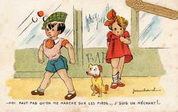 Jean CHEVAL - Moi Faut Pas Qu'on Me Cherche, Enfants, Chien - Cheval