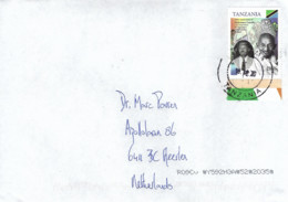 Tanzania 2020 Musoma Mahatma Gandhi President Julius Nyerere Flag Lion Cat Armory Cover - Tansania (1964-...)