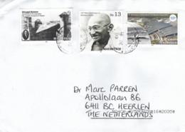 Mauritius 2019 Port Louis Mahatma Gandhi Photography Airport ICOA Cover - Mahatma Gandhi