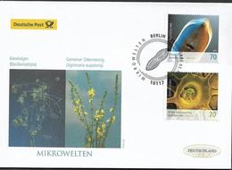 2015 Germany  Deutschland Mi. 3192-3 FDC   Mikrowelten - FDC: Enveloppes