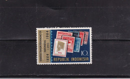 Indonesia 1964 Mi# 443  - Centenary Of Postage Stamps In Indonesia MNH** - Indonesia